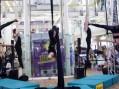 Breathtaking aerial ballet at the Harvey Centre