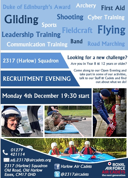Harlow Air Cadets Open Day