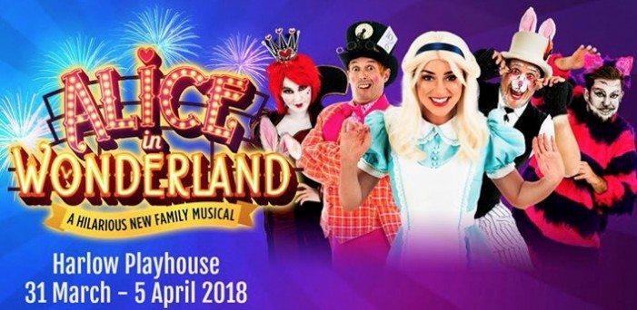 Easter fun with Alice in Wonderland at Harlow Playhouse