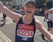Amazing Amie conquers the London Marathon