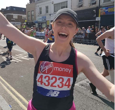 Amazing Amie conquers the London Marathon