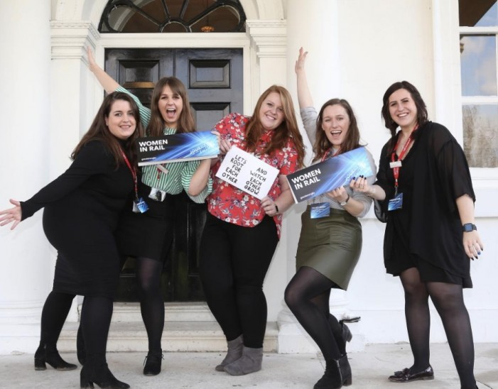 Women In Rail group offers support as Greater Anglia celebrates International Women's Day