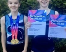 Trampolining: Apex members impress at National Champs