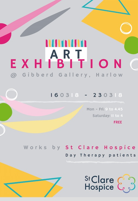St Clare Hospice set to host art exhibition at The Gibberd Gallery