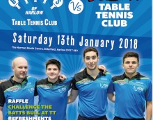 Table Tennis: Premier action at BATTS