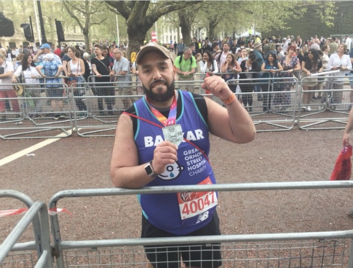London Marathon 18: Mr Bakkar conquers the London Marathon