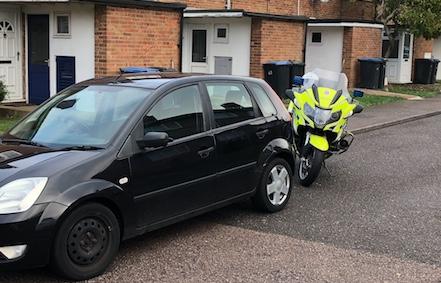 Police motorbike chase ends in Nicholls Field