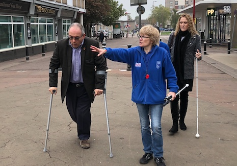 Harlow MP Robert Halfon learns more from Guide Dogs for the Blind