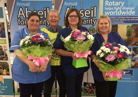 Harlow Tye Rotary host Know Your Blood Pressure Day