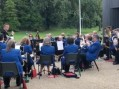 Harlow Brass Band at the Town Park