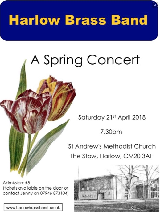Harlow Brass Band: Spring Concert