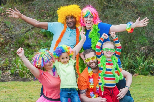 Go Bright with St Clare Hospice in July