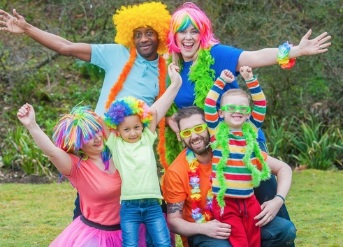 Dozens of families have signed up for St Clare's Go Bright Walk!