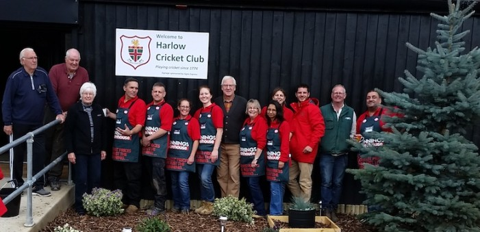 Bunnings spruce up Harlow Cricket Club