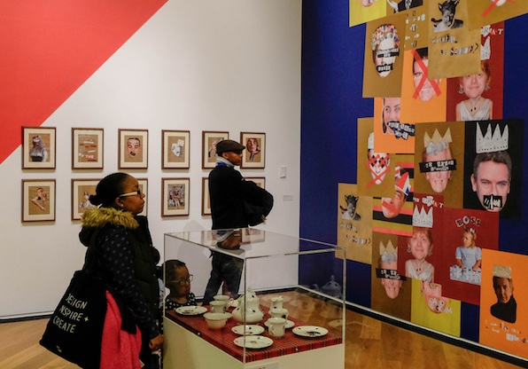 Artistic students from Burnt Mill contribute to a prestigious exhibition.