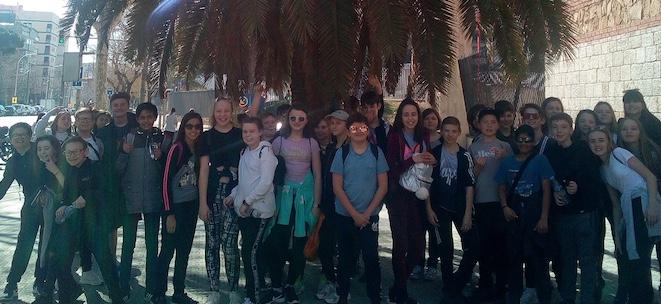Burnt Mill students improve language skills in Barcelona