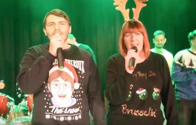 It's the Burnt Mill Academy Christmas Video!