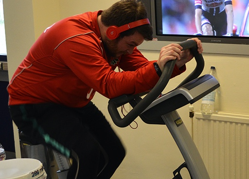 Burnt Mill staff take on 24 hour cycling challenge