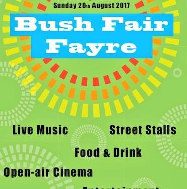 Bush Fair Fayre centres on Cafe Pizzeria on Sunday