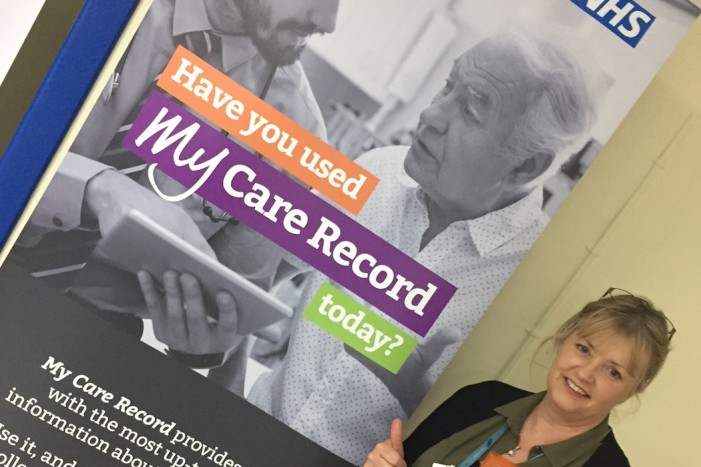 People in Harlow benefiting from  joined-up care.