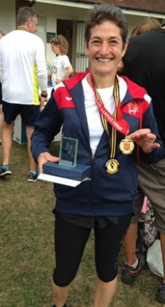 Athletics: Carinne strikes gold at Essex Half Marathon Champs
