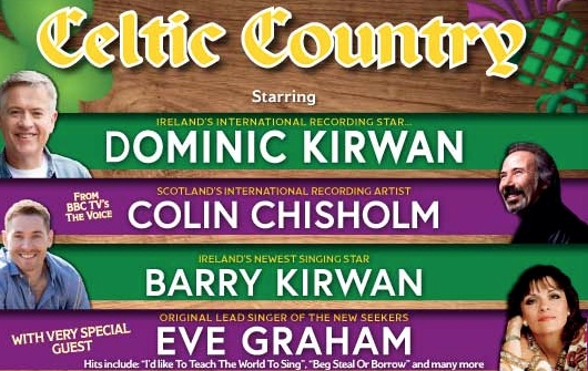 Cancelled: Celtic Country not coming to the Harlow Playhouse