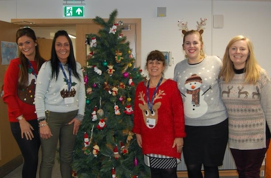 Stay snug and support St Clare this Christmas Jumper Day