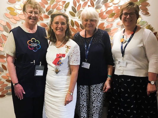 St Clare welcome new patron