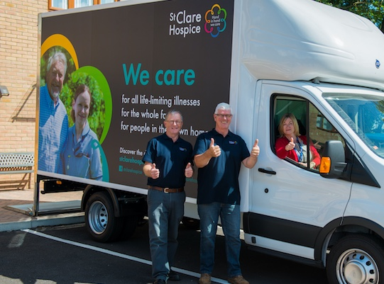 Is it time to donate your furniture to St Clare Hospice?