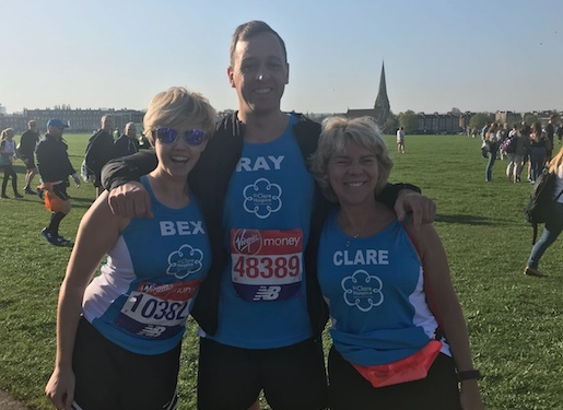 Come and run the London Marathon for St Clare Hospice