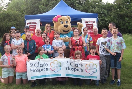 "St Clare Hospice encourage Harlow schools to ""Go Bright!"""
