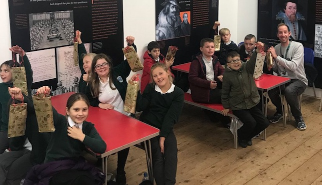 Cooks Spinney students go back to Victorian times