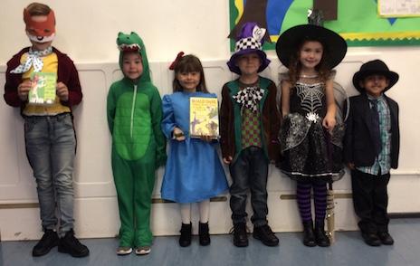 Little Parndon celebrate Roald Dahl day