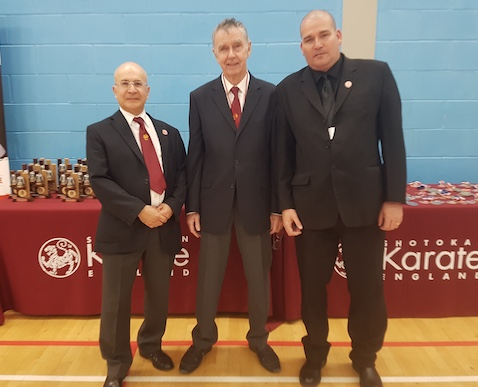 UKIP councillor welcomes Karate champions to Harlow
