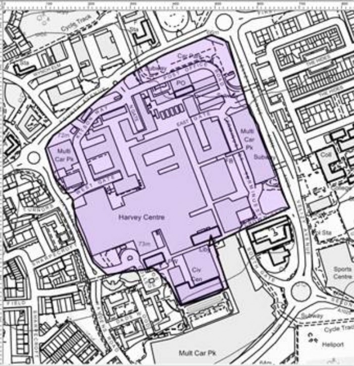 Dispersal order back in place for Harlow Town Centre
