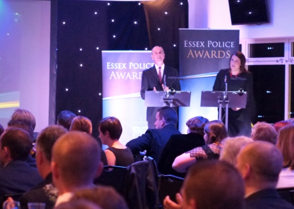 Harlow cops awarded in special ceremony by Essex Police