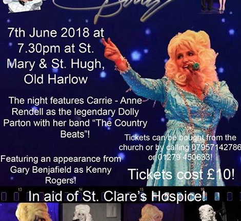 Dolly Parton tribute in aid of St Clare Hospice