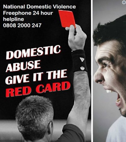 Give domestic violence the red card during World Cup