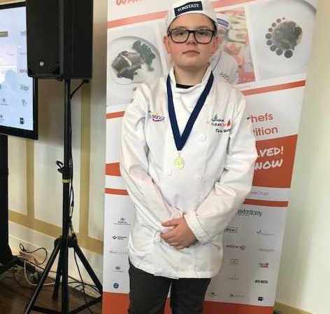 Passmores student Dylan makes it to national final of Futurechef