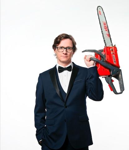 Spoiler Alert: Ed Byrne to take award winning show to Harlow