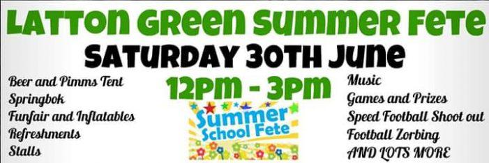 Latton Green Summer Fete