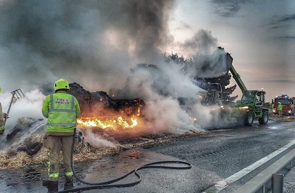 Traffic and Travel: Long delays on M11 due to lorry fire