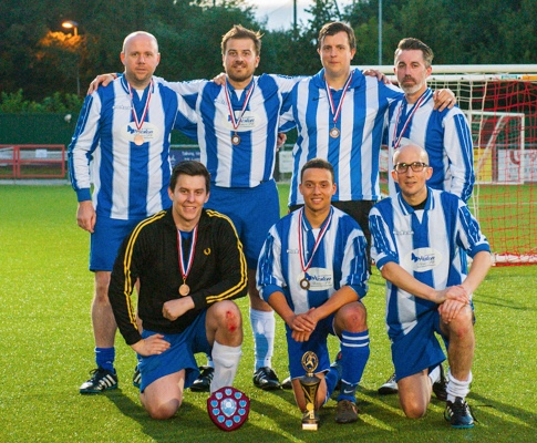 Hospice's join forces for football tournament
