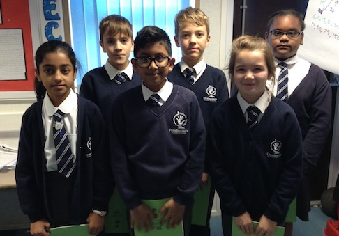 Talented writers at Freshwaters Primary