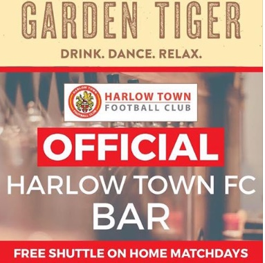 Garden Tiger seal new partnership deal with Harlow Town FC