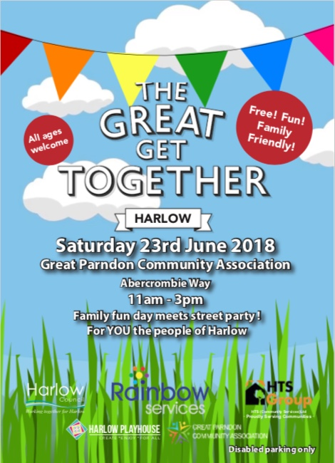 The Great Get Together is coming to Harlow