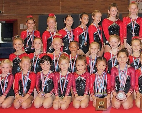 Harlow Gymnasts are sparkling gems