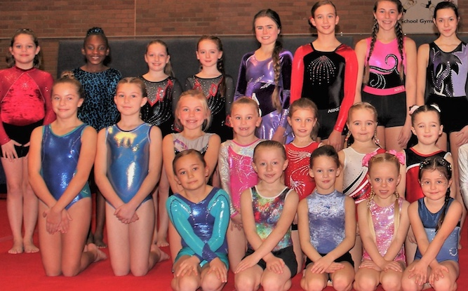 Harlow Gymnastics dazzle in December