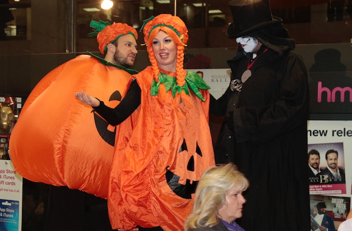 Hellzapoppin at Halloween in the Harvey Centre
