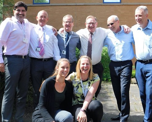 Harlow's HTS Group takes on Three Peaks Challenge for local hospice